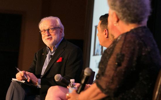 Robert Spector, customer service expert acting as panel moderator.